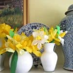 Spring Centerpieces for A Charitable Event