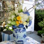 Elegant Blue and White Bridal Shower