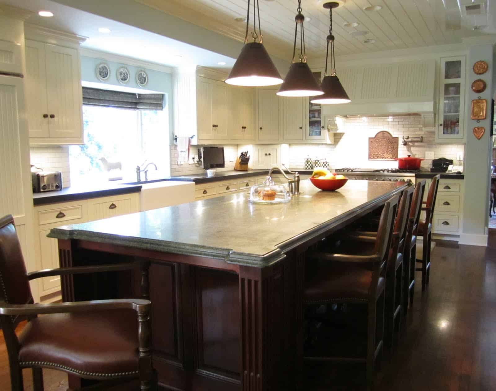 Classic Kitchen Remodel In California Citrus Country
