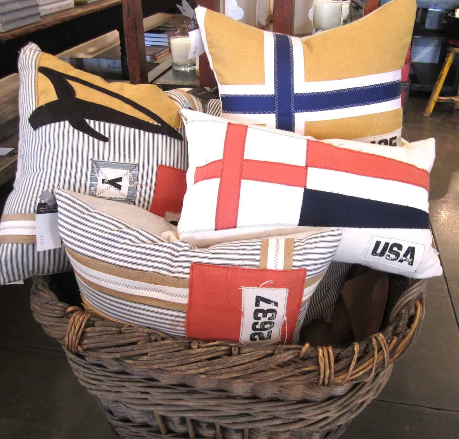 Decorating With Vintage Flags Classic Casual Home