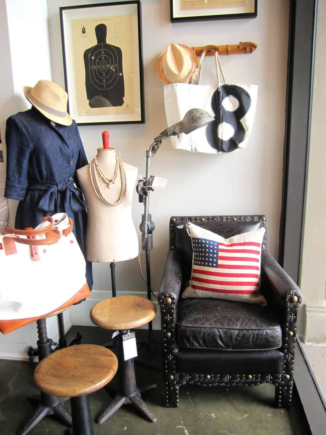 1921917301cc Decorating with Vintage Flags - Classic Casual Home