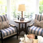 Classic Beach Family Room, Hyphen Interiors, Circa Lighting
