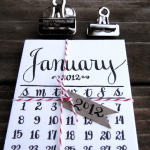 Organize 2012: Calendars With Style