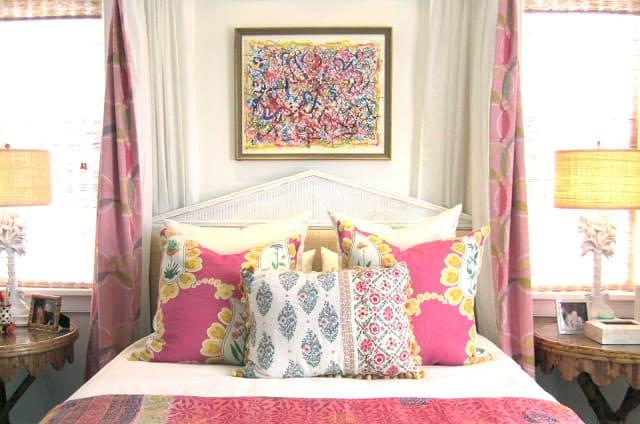 Happy, Colorful Bedrooms and Stella + Sadie
