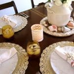 Easy Table Decor, Recipe and Veranda Interiors