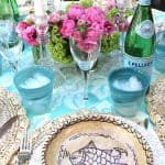 A Turquoise Birthday Party