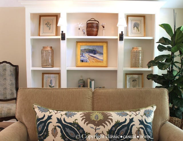 Beach Living Room Décor Before and After
