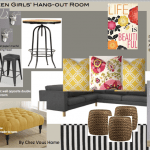 Teen Girl's Hang-out Design
