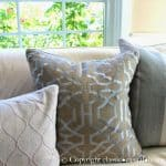 Lilac and Blue Living Room Makeover
