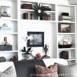 Our Living Room Shelves
