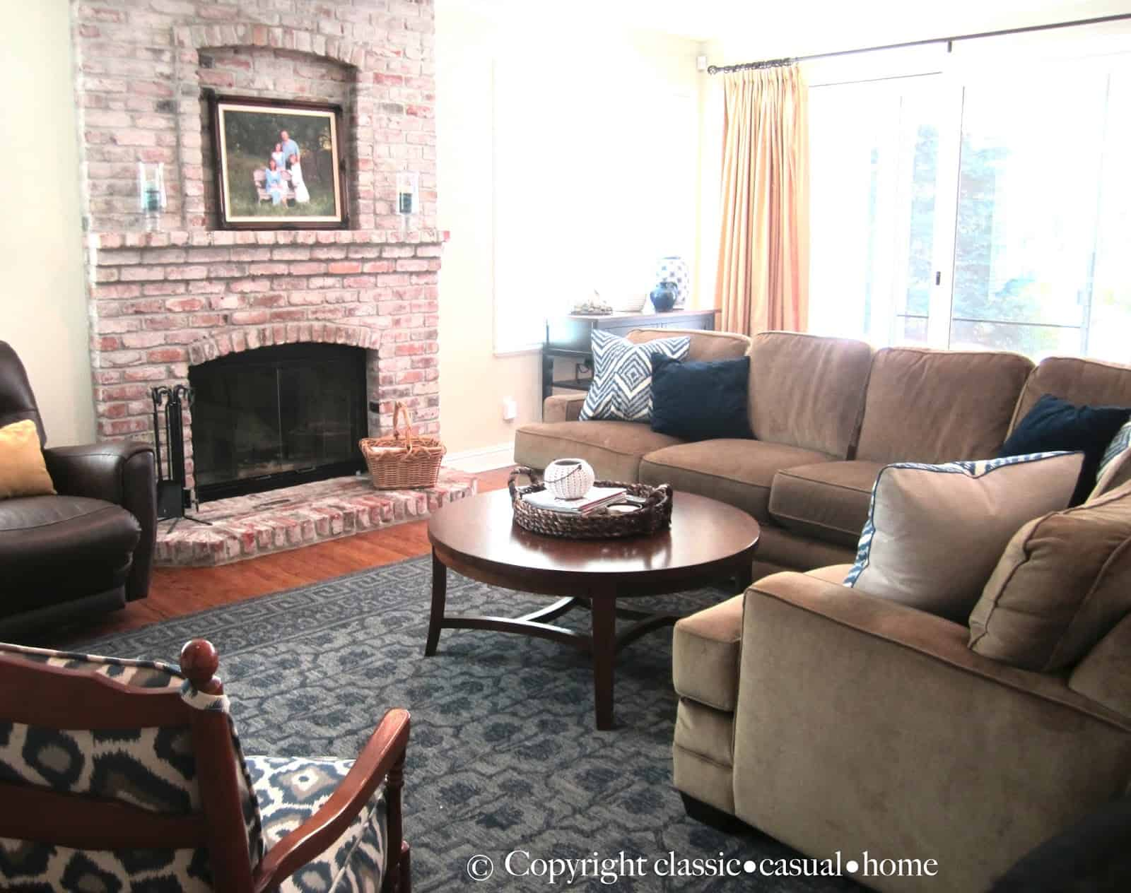 Subtle Ways To Refresh A Family Room Before And After Clic Pottery Barn Trellis Rug Lovely Braylin Reviews Designs