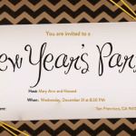 Keys to A Fun and Stress-free New Years Party