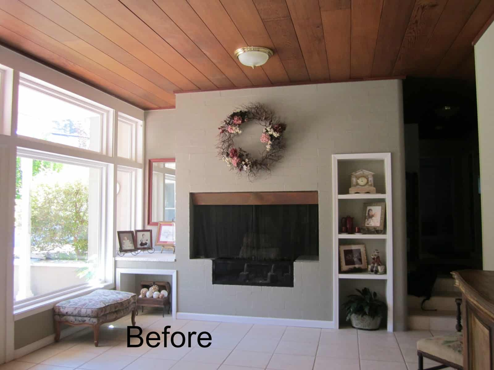 Ranch House Living Room Before And After