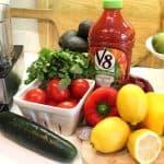 Healthy Tips: Tasty Gazpacho, Lime/Mint/Grapefruit Spritzer, Gratitude