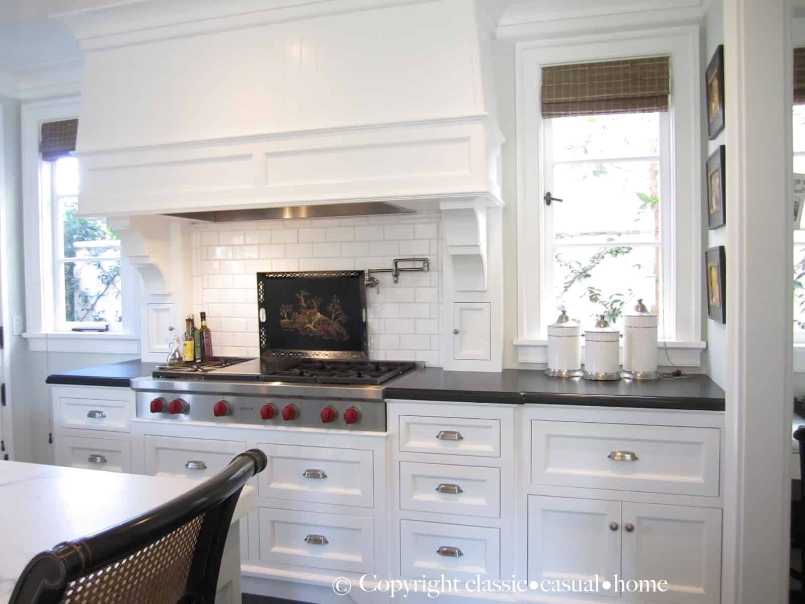 Classic White Kitchen Backsplashes Classic Casual Home