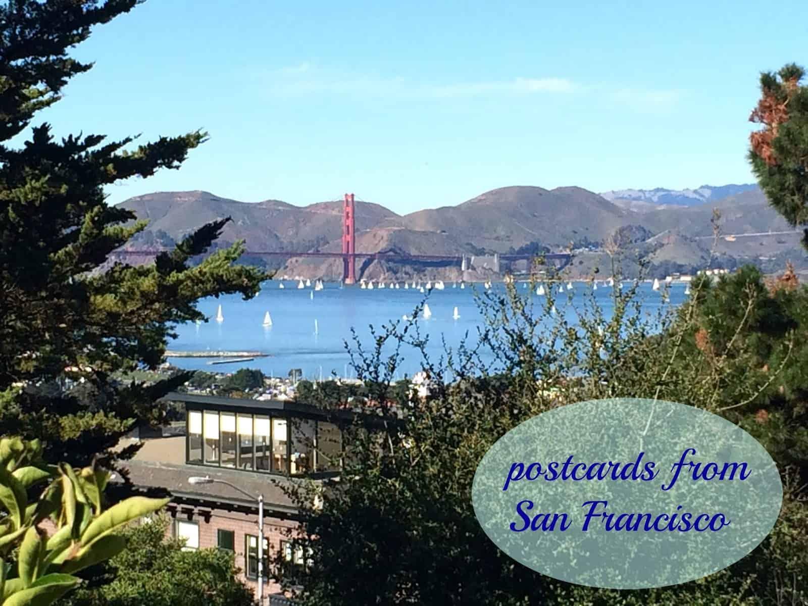 Sanfranciscopostcard 5 Classic Casual Home