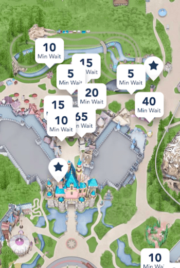 handy app for Disneyland