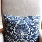 Maximizing A Guest Room–Blue and White Before and After
