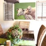 California Décor:  At Ease With a Refined Vintage Mix