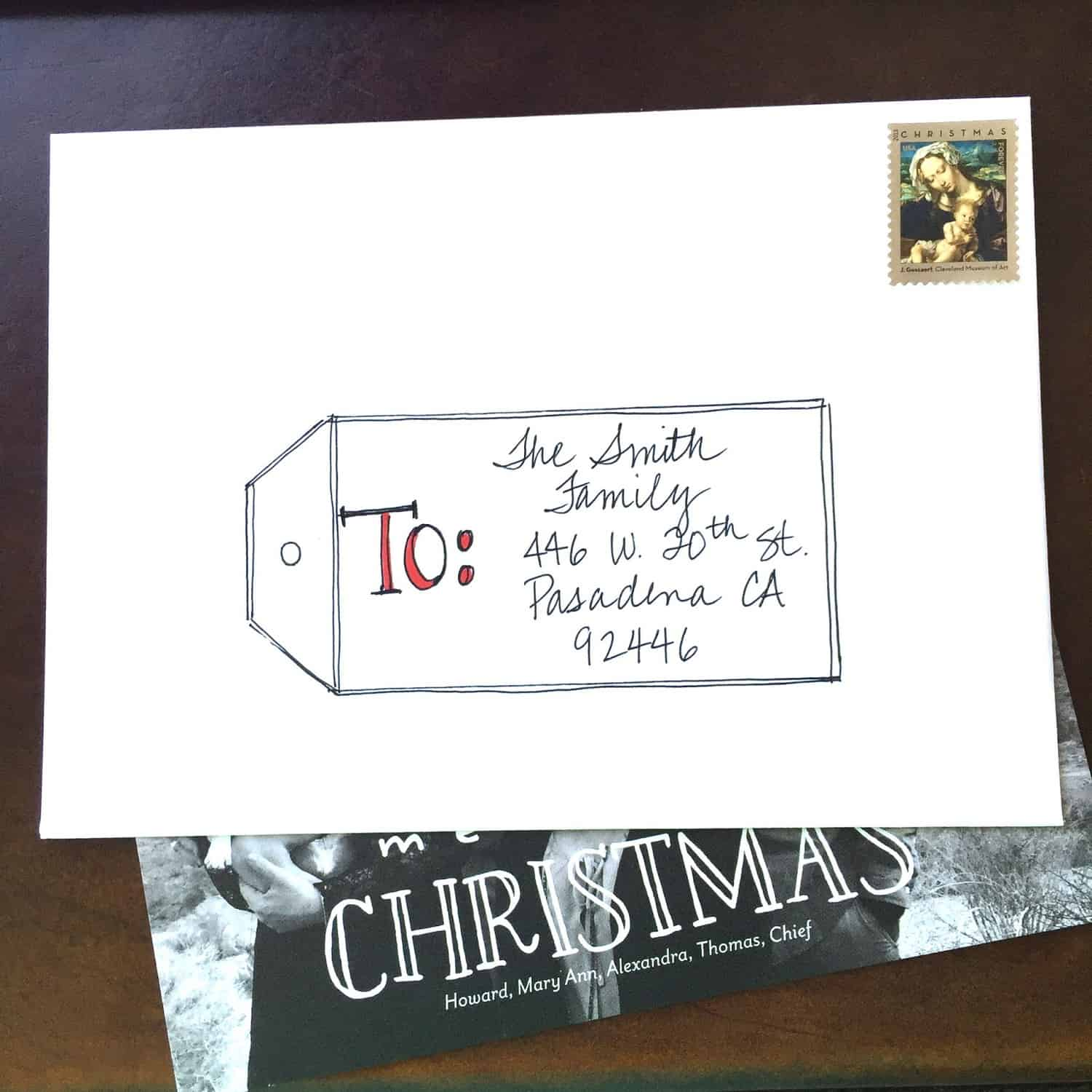 here is another quick way to address cards from last year
