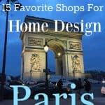 PARIS: My Favorite Home Shops For Your Trip