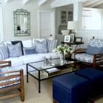 Blue and White Projects and an Easy Weeknight Party