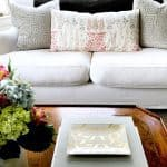 My Living Room Video Tour and A Designer Tip for Your Pillows