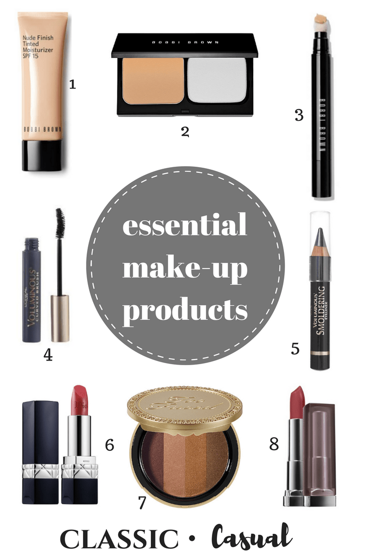 My ESSENTIAL Beauty Product Recommendations
