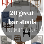 20 GREAT NEW BAR STOOLS TO UPDATE YOUR LOOK