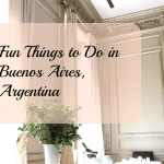 Don't Cry For Me Argentina/What To Do In Buenos Aires