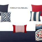Summer Entertaining on the Water with Red, White and Blue