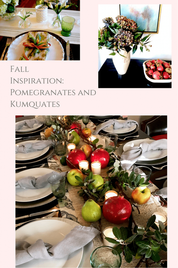 decorating-with-pomegranates-for-fall