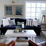 E-design For a Problematic Family Room Before and After