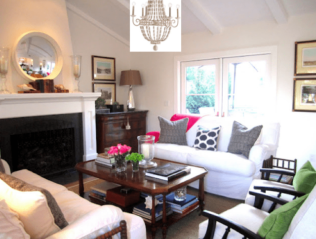 Beach Cottage Living Room's Summer Looks