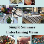 PROJECT DESIGN: Simple Summer Entertaining Tips