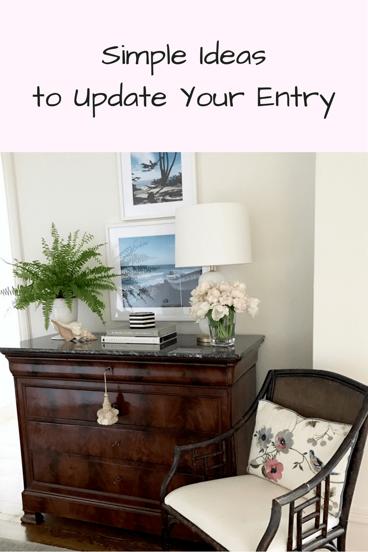 Project Design:   Simple Ideas to Update Your Entry