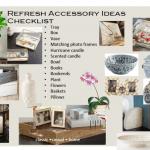 Refresh Your Home:  Accessory Checklist!
