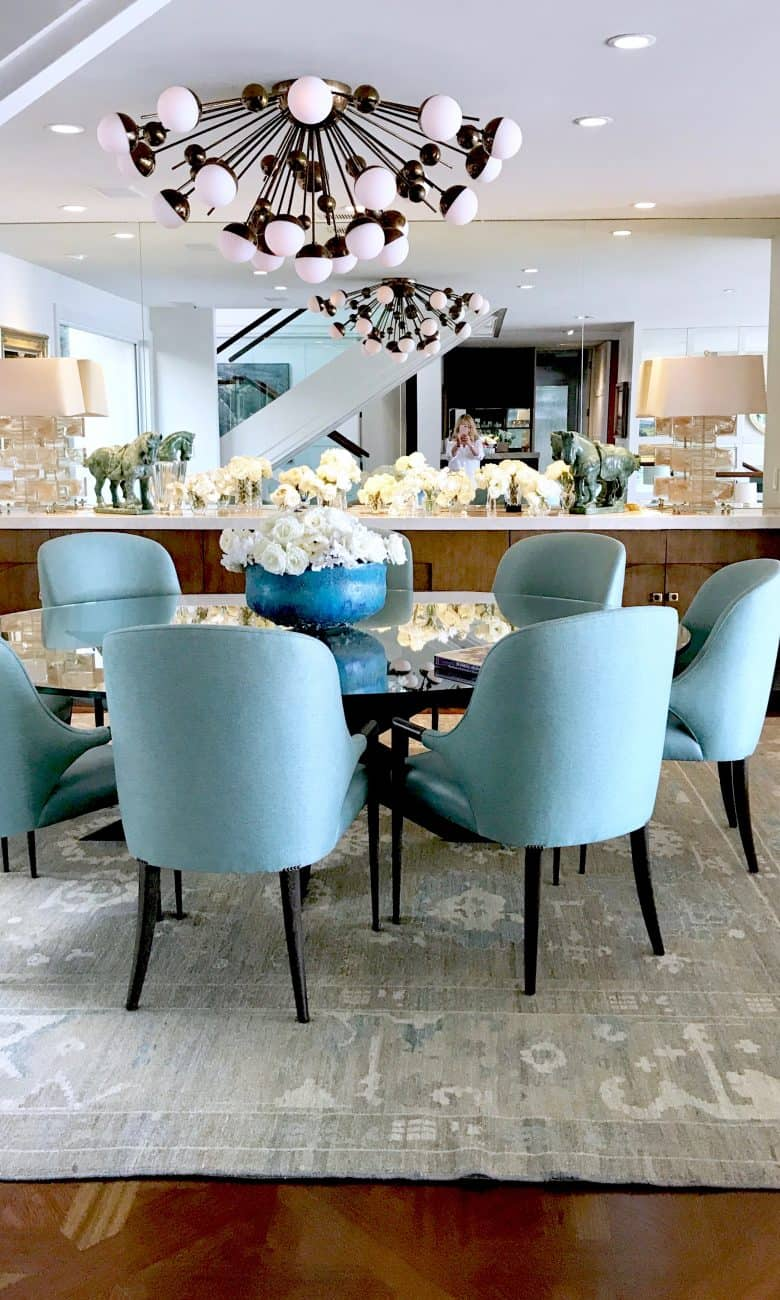 Mid-century Home on the Newport Bay and a Special Birthday Party
