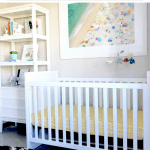A Home Office Becomes A Fresh, Cozy Nursery and Other News