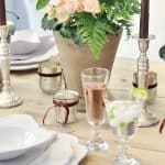 Mixing High with Low For A Super Stylish Table Setting
