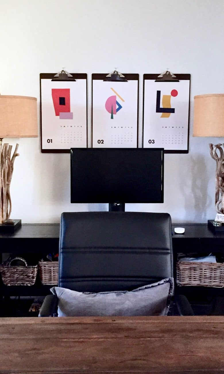 MAKEOVER:  AN Unused Loft Space Becomes A Home Office