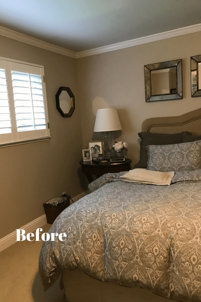 Eight Steps To Refresh Your Bedroom Before And After