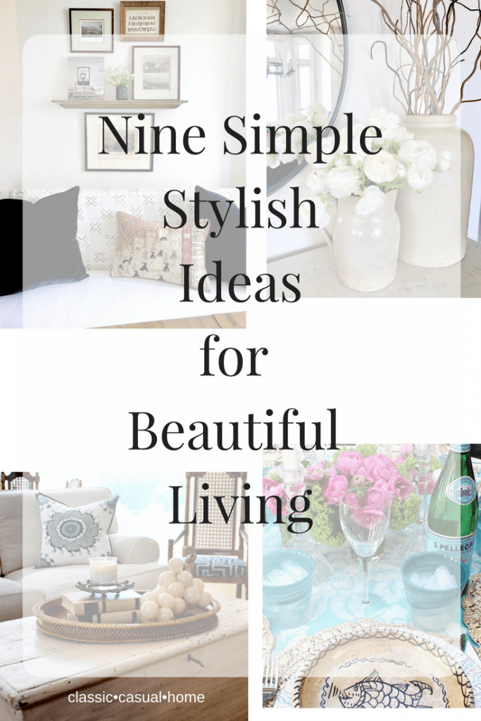 Simple Ideas for Beautiful Living