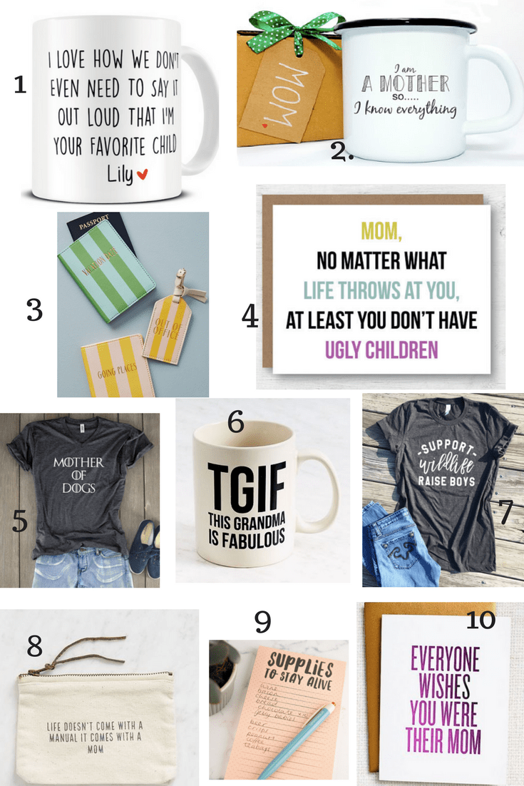 gifts to make mom laugh