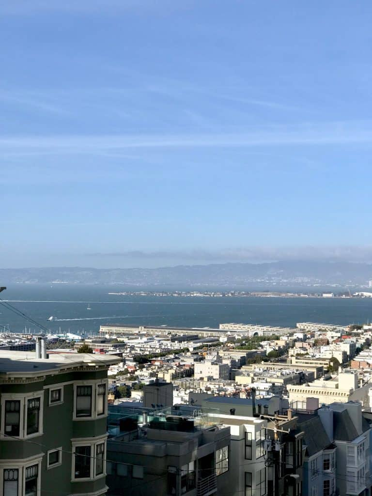 SF bay view