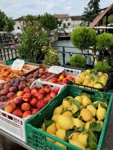 Outdoor Market in Provence