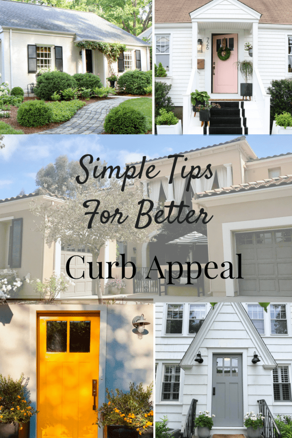 Simple Tips for Better Curb Appeal