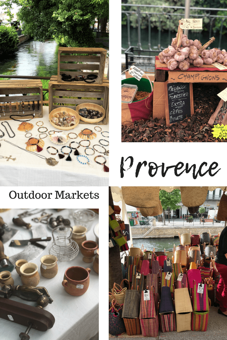 Provence Outdoor markets