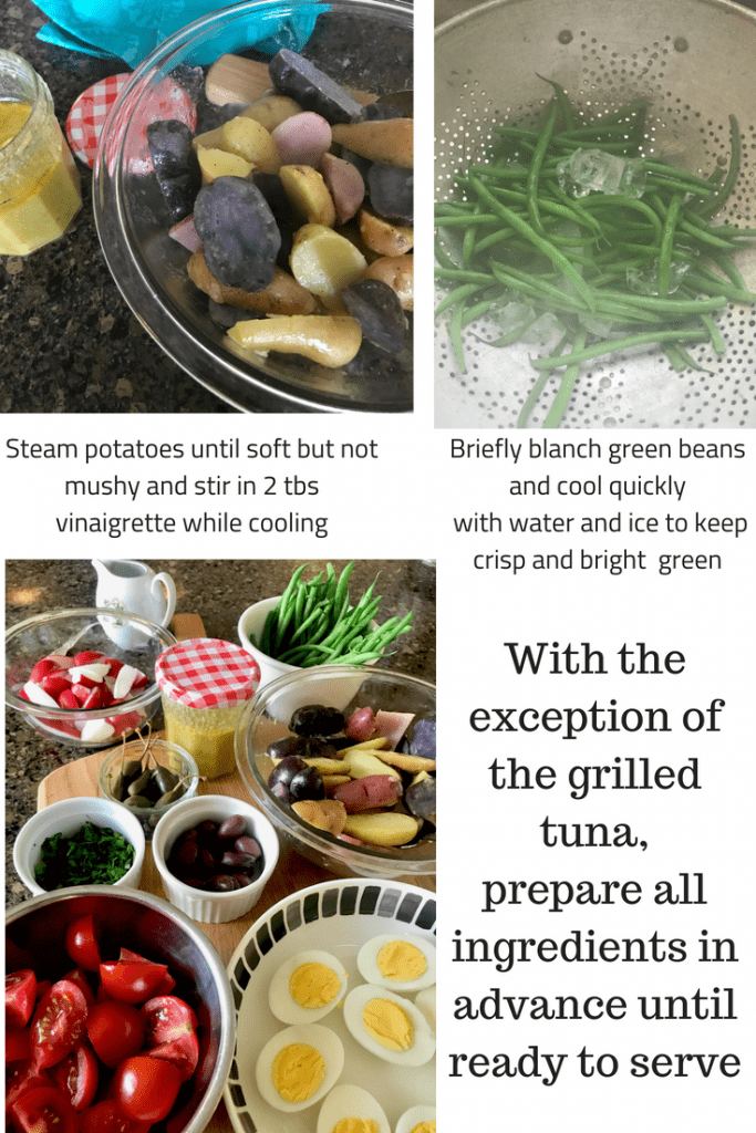 Salade Nicoise Ingredients