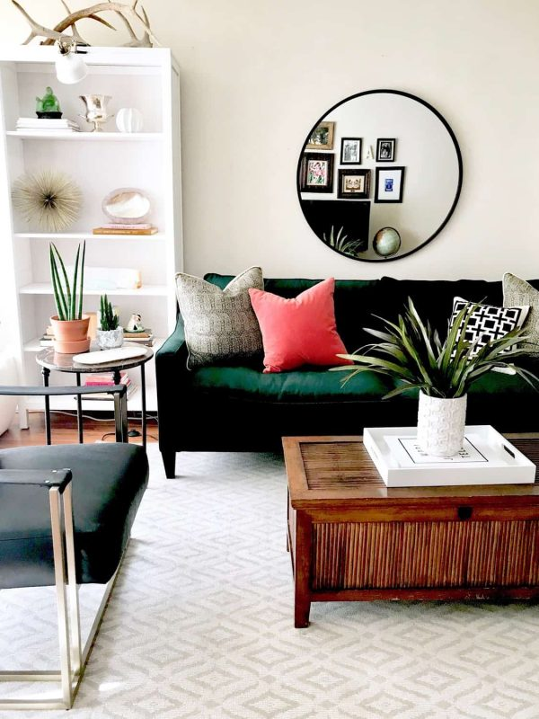 modern boho style apartment in la  classic casual home